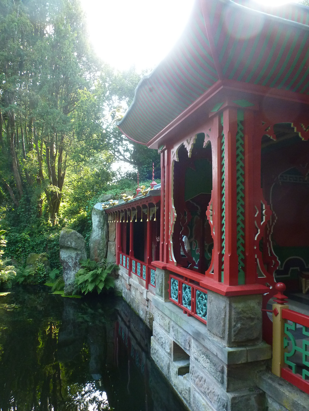 The Chinese Garden Temple