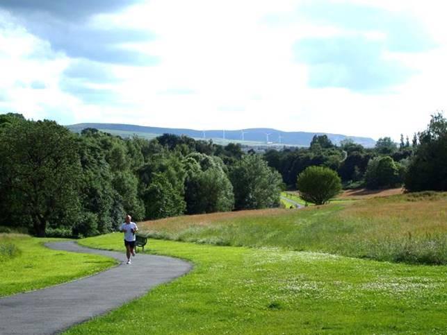 Burnley park under new long-grass maintenance regime