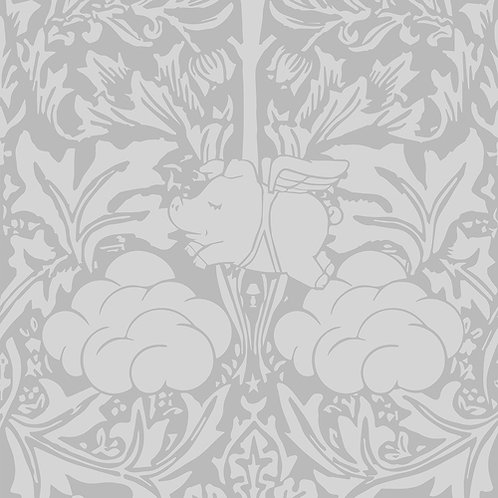Morris Dream - Pebble grey Wallpaper