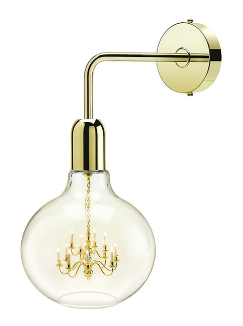 Gold King Edison Wall Lamp