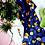 Thumbnail: Blue Leopard Print Tea Towel