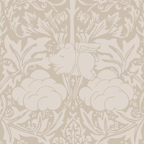 Morris Dream - Warm Taupe Wallpaper