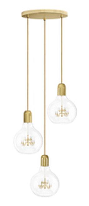 King Edison Trio Pendant Lamp