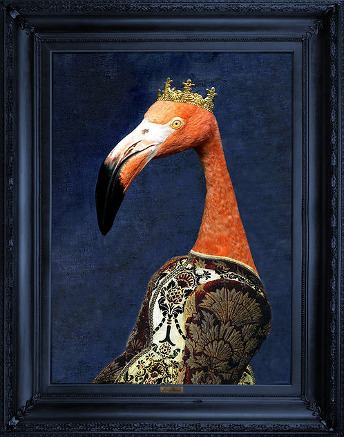 'Princess Flaminia' Canvas