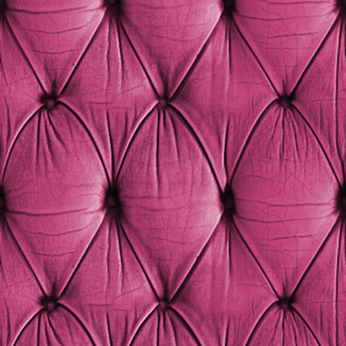 Pink Chesterfield Button Back Wallpaper