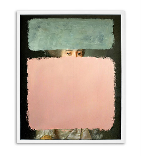 Colours - Pink & Green (Limited edition print)