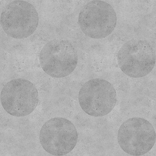 Dark Urban Concrete Polkadot Wallpaper