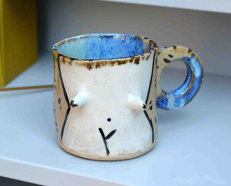 Female Goddess Espresso Mug