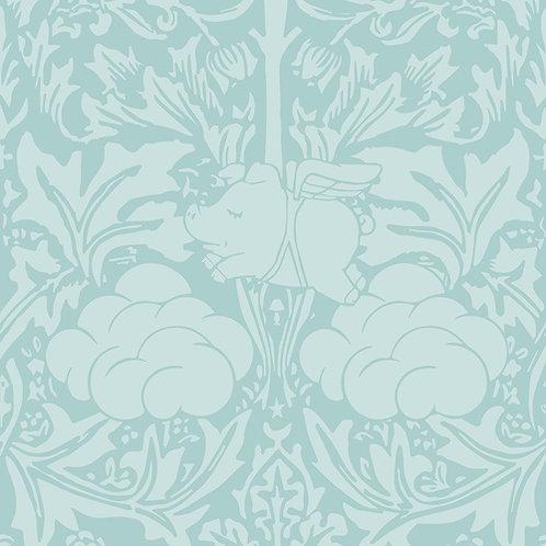 Morris Dream - Minty egg blue Wallpaper