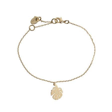 Bracelet Monstera Gold