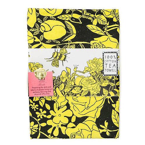 Bee Free Tea Towel
