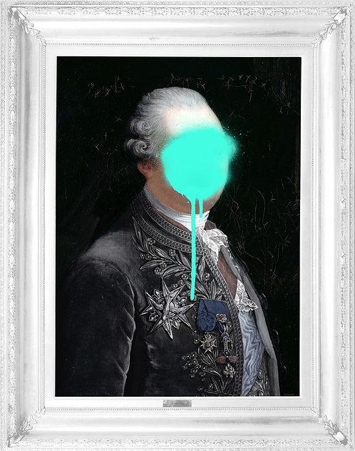 'Monsieur Mint' Canvas