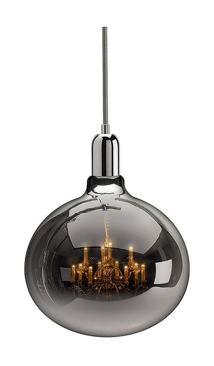 King Edison Grande Chrome Pendant Lamp