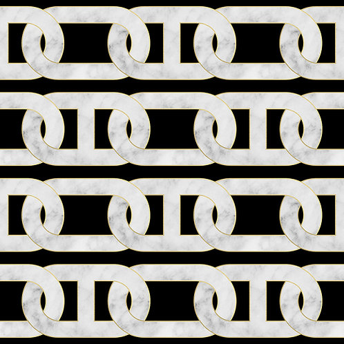 Chain Wallpaper - Black