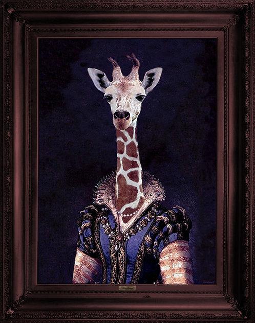 'The Dame Giralda' Canvas