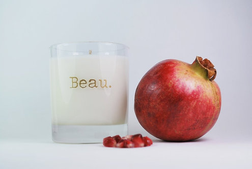 Black Pomegranate | Soy Candle | 300ML