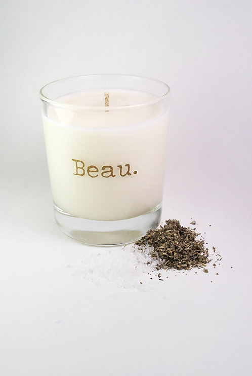 White Sage and Sea Salt | Soy Candle | 300ML