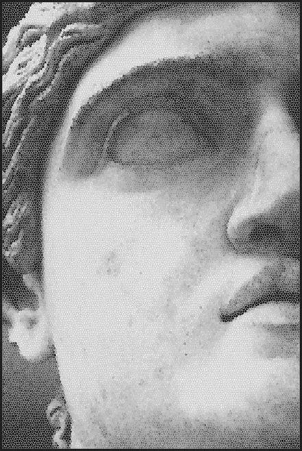 Mosaic Statue -2 Rug