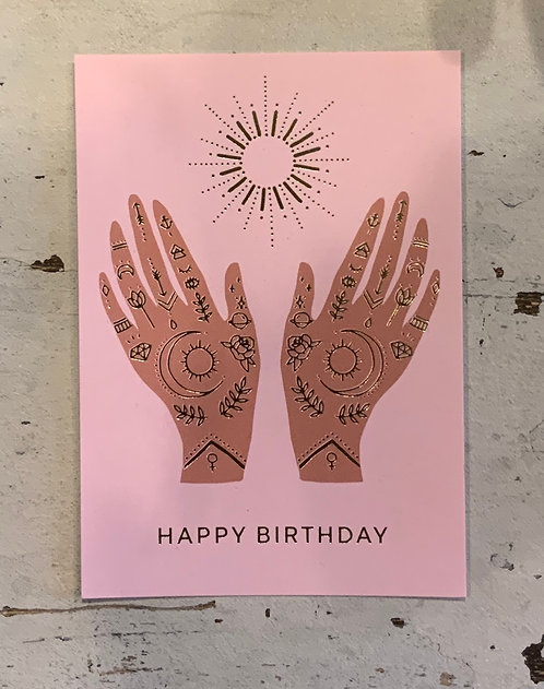 Happy Birthday Post Card