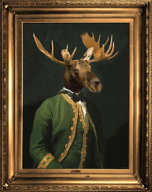 'Lord Montague' Canvas
