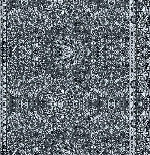 Persian Wallpaper - Cerulean Blue