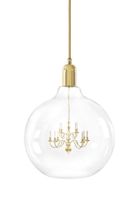 Gold King Edison Grande Pendant Lamp