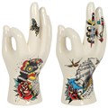Tattoo Palmistry Hand Ornament (Victory)
