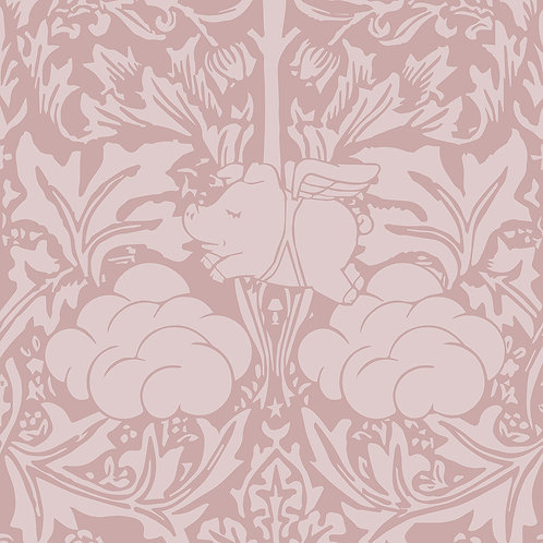 Morris Dream - Warm clay Wallpaper