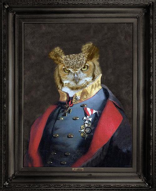 'Grandfather Olaf' Canvas