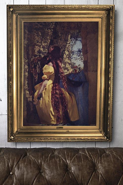 'Rapunzel' Canvas