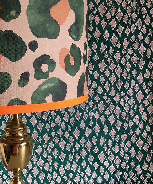 Oversized Leopard - Jungle Green