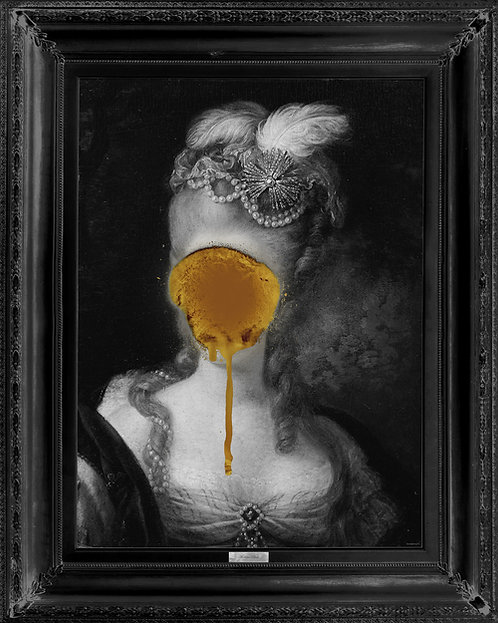 'Madame Blush' - Gold Edition Canvas