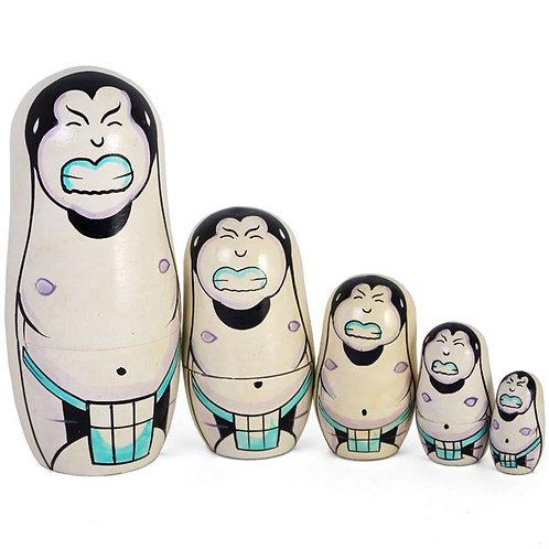Sumo Russian Doll Set