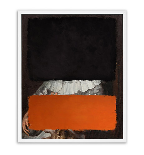 Colours - Black & Orange (Limited edition print)