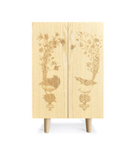 Ash Ornithological Sketch Cabinet