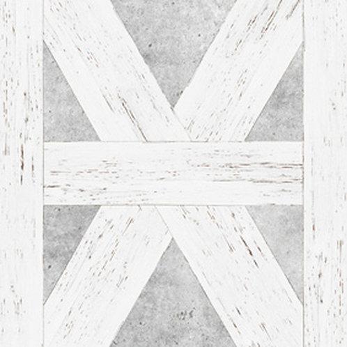 White Tudor Wallpaper