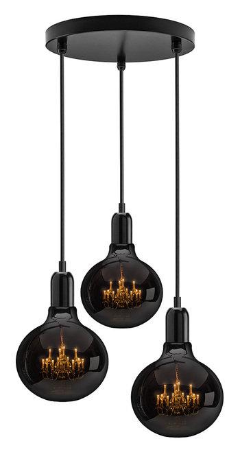 King Edison Ghost Trio Pendant Lamp