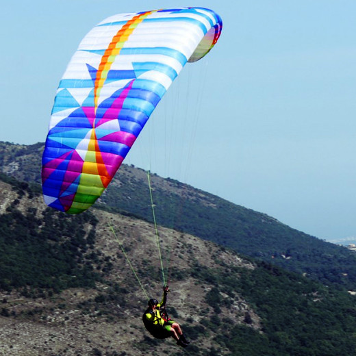 Turning a paraglider efficiently