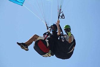 Tandem paragliding Southern California