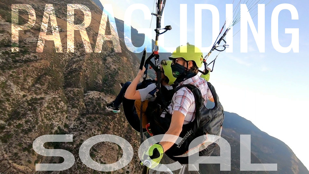 Paragliding Tandem Training