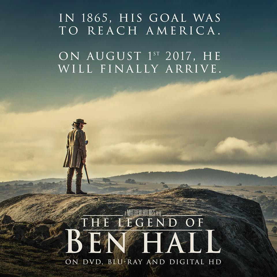The Legend Of Ben Hall BluRay DVD
