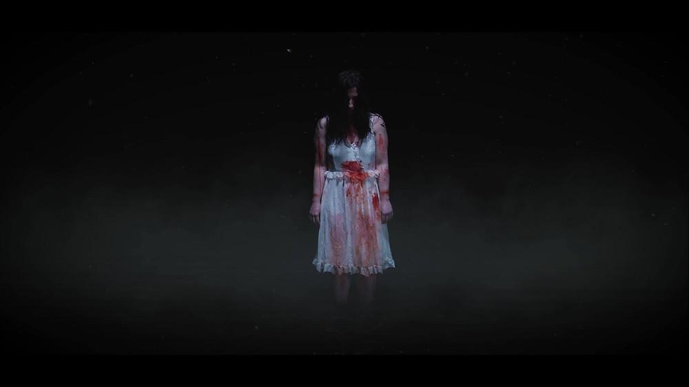 Darkness, void, terror, night, horror, blood
