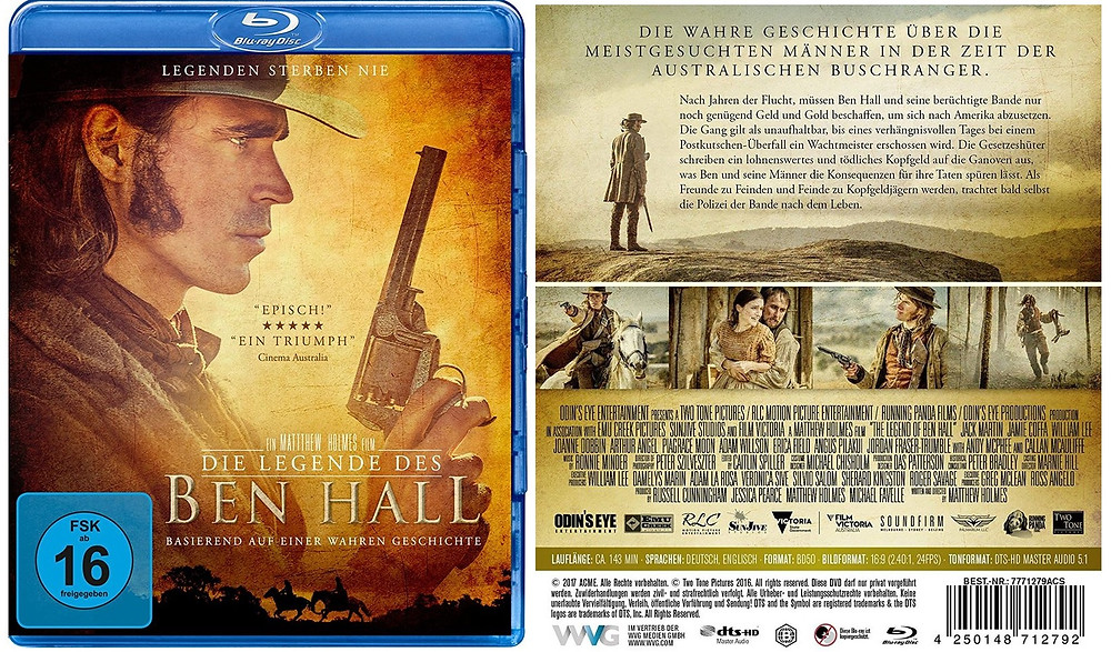 The Legend Of Ben Hall DVD BluRay German Germany