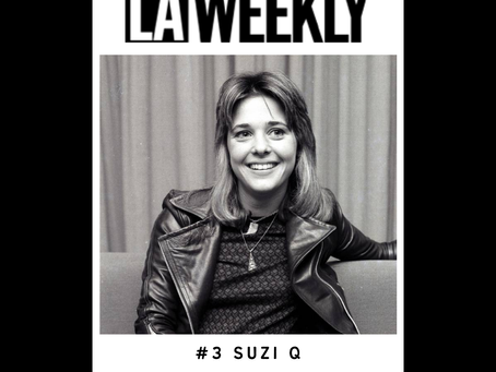 SUZI Q Makes The LA Weekly Top 10 Documentaries of 2020