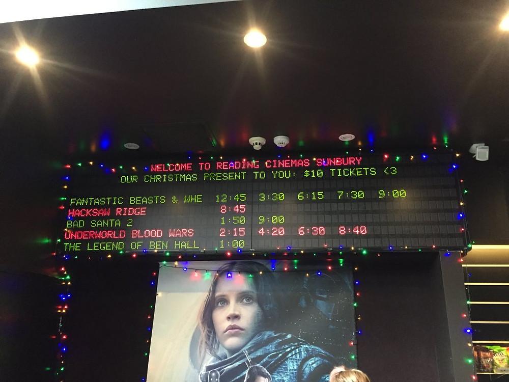 The Legend Of Ben Hall Cinemas
