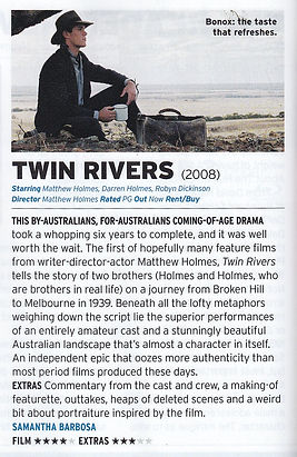Twin Rivers critic review