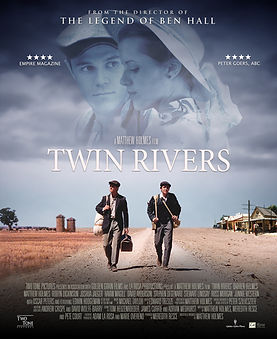Twin Rivers BluRay Officia Poster