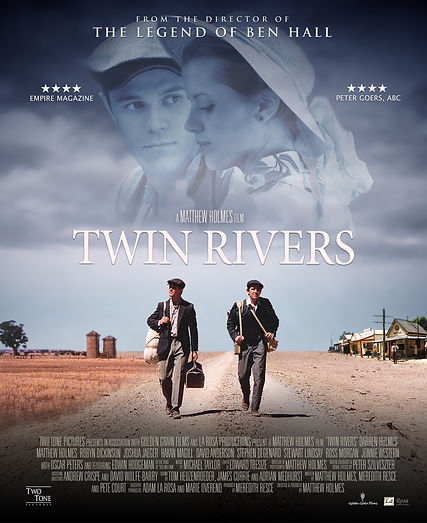 Twin Rivers Official Film Poster BluRay