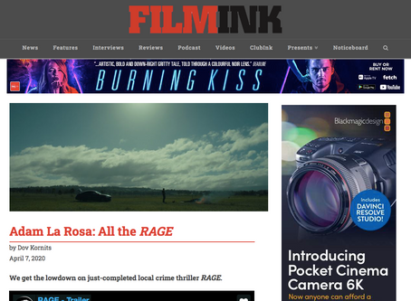 FilmInk Exclusive Interview With Adam La Rosa On RAGE