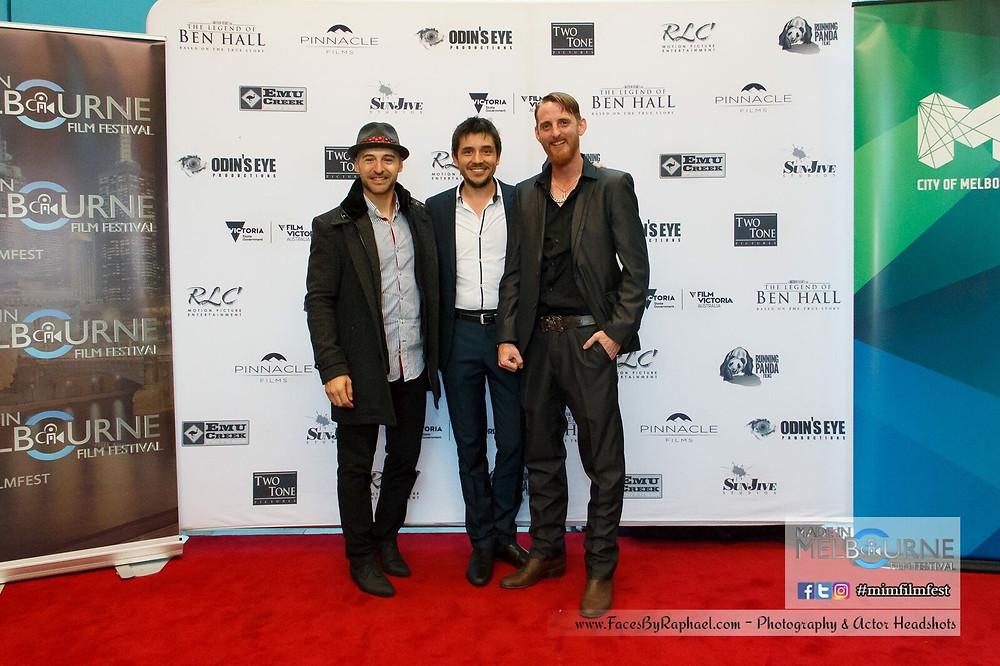 Adam La Rosa The Legend Of Ben Hall Premiere Matthew Holmes Steve Jager Red Carpet